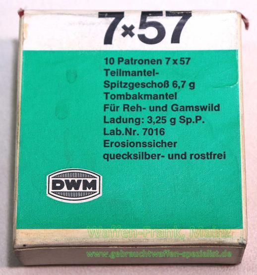 DWM, Karlsruhe Büchsenpatronen