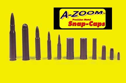 A-ZOOM 16124 EXERZIER-/PUFFER- .45 LONG COLT 6ER PACK