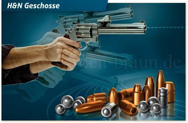 H&N Geschosse9mm HP .356/125 High Speed 500 Stk